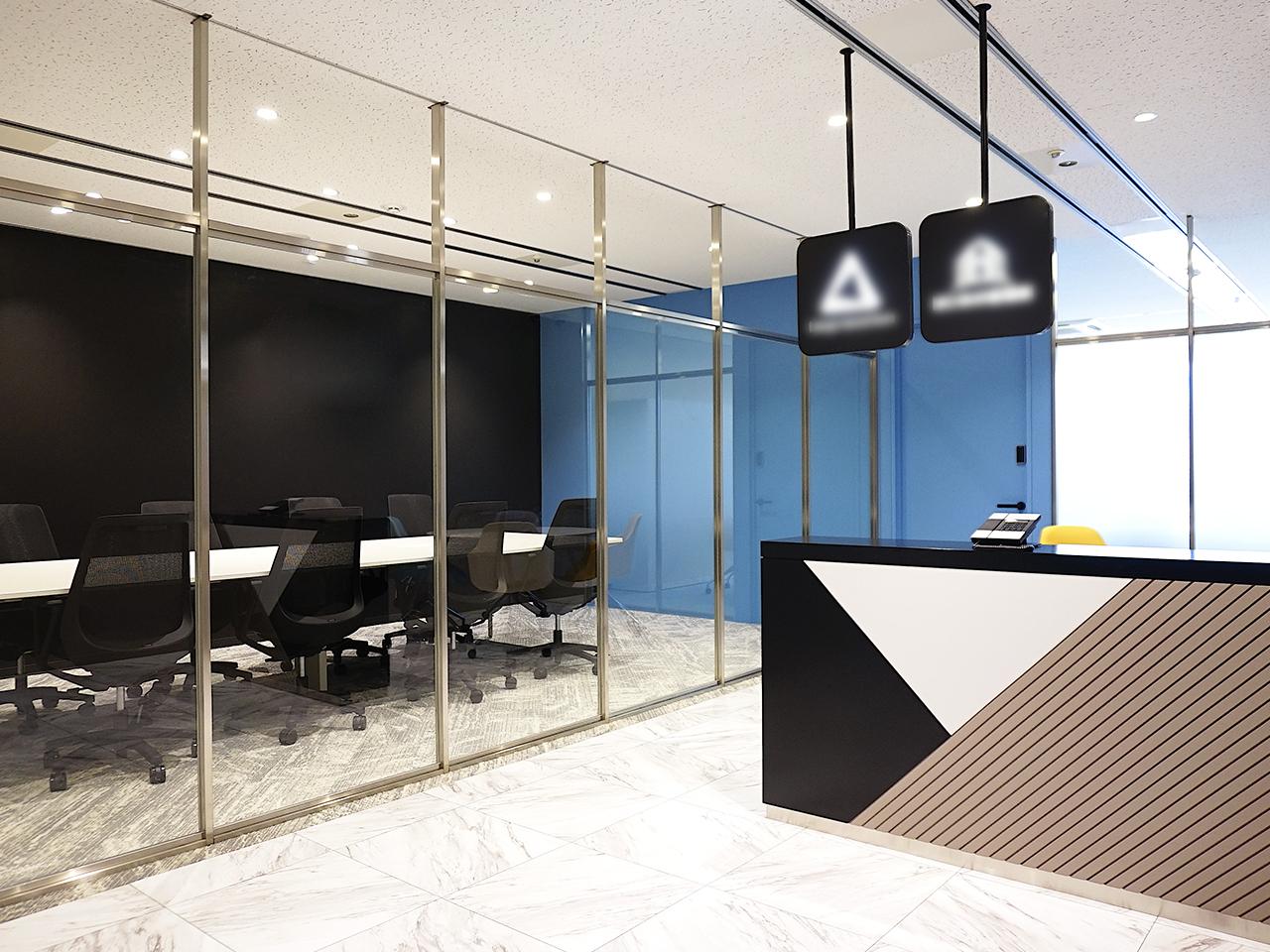 洗練されたオフィス空間