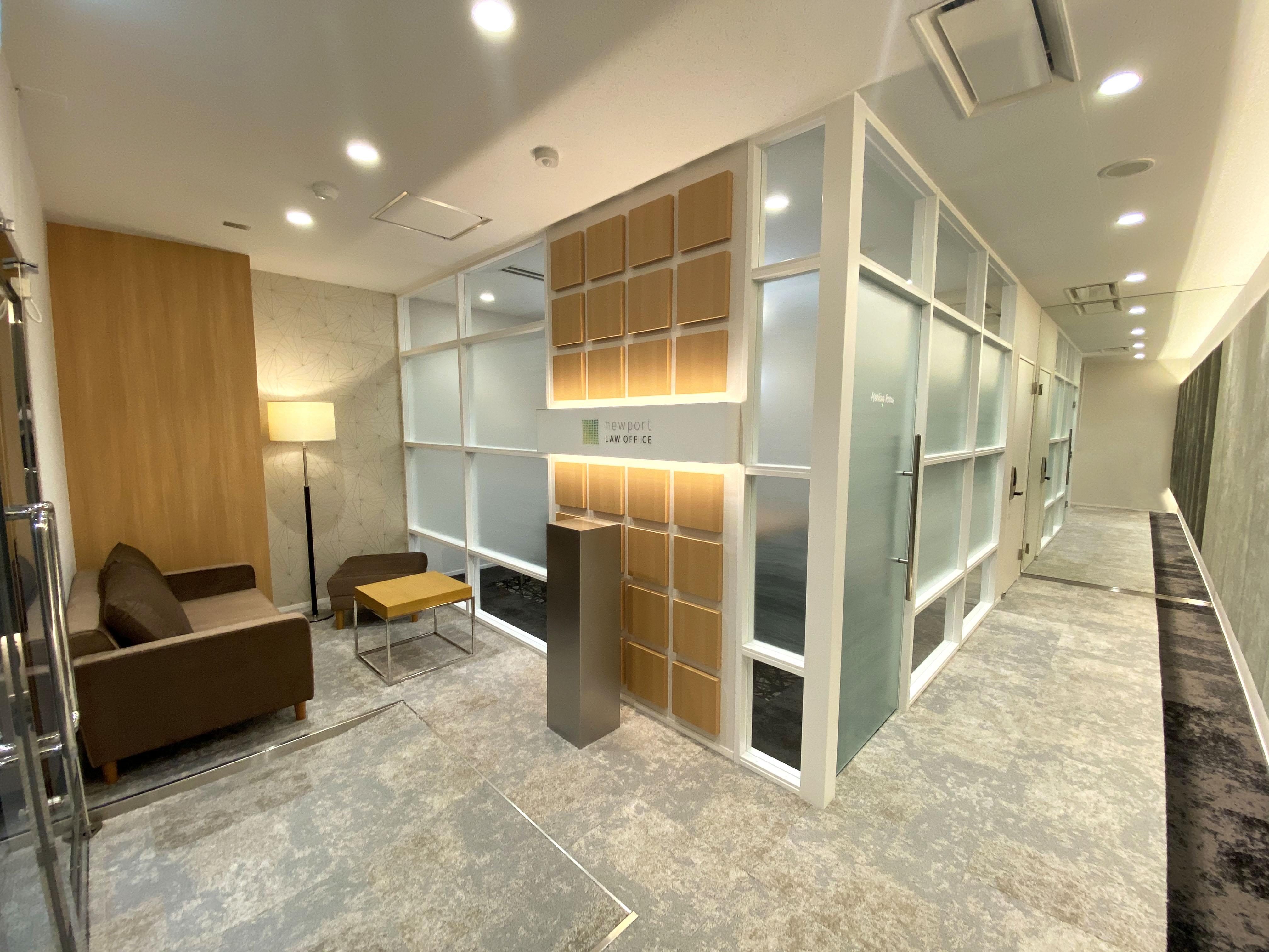 清潔で安心感を与える上質な空間
